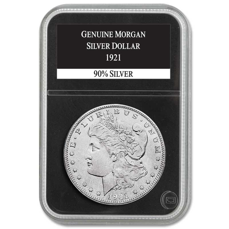 The Complete Collection of US Morgan Silver Dollars MSA 2