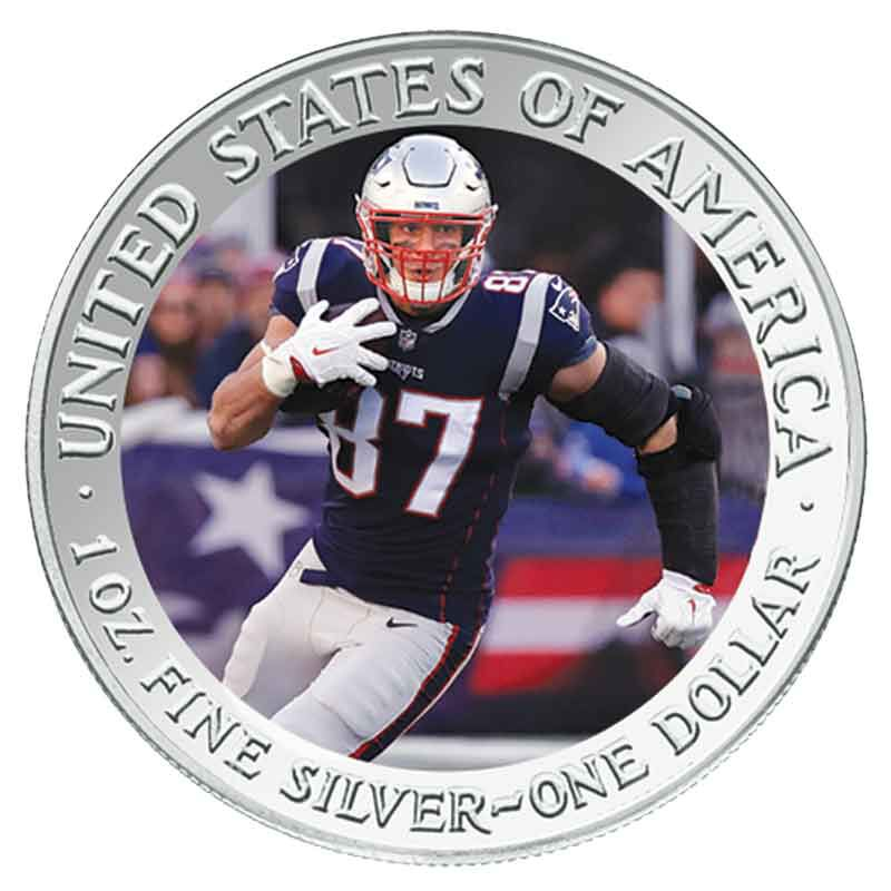 The New England Patriots Super Bowl LIII Champions Commemorative Coin Collection B19 2
