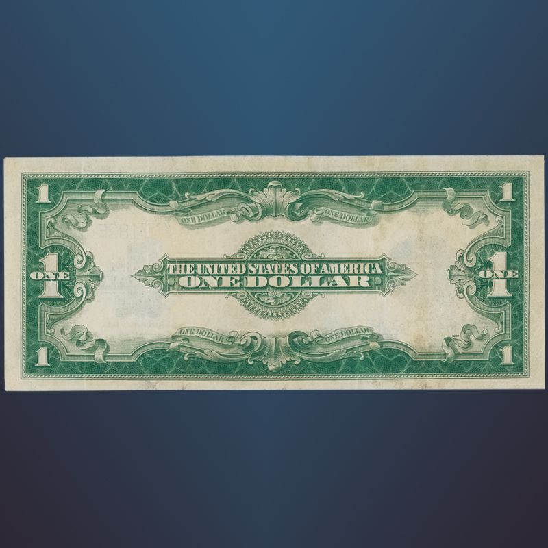 The Last Large Size One Dollar Silver Certificate LLS 2