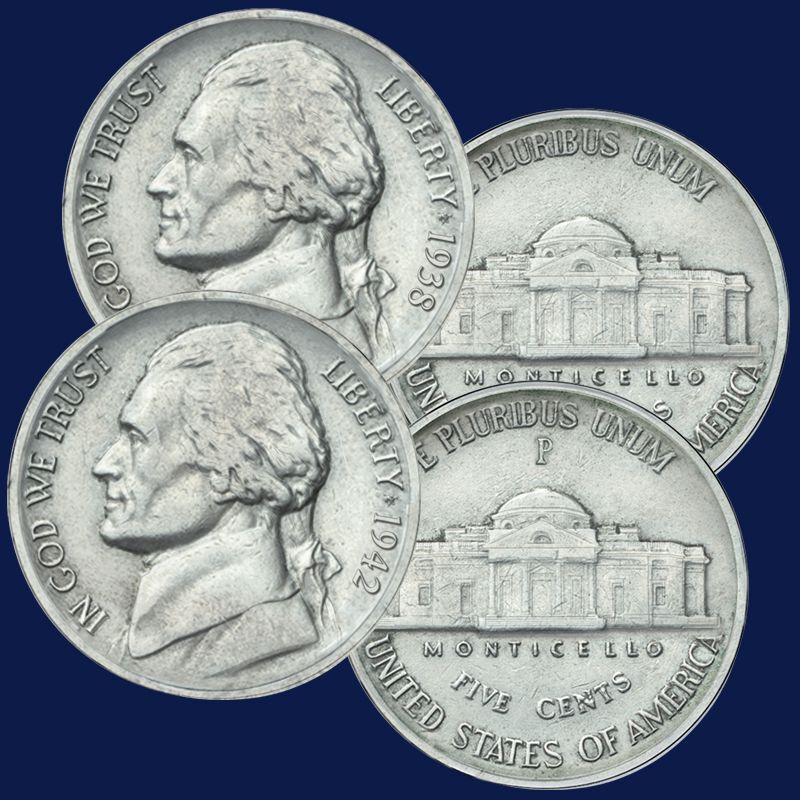The Jefferson Coin and Stamp Collection JNC 1