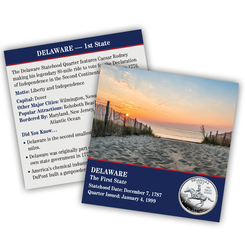 The Complete Collection of US Statehood Quarters Anniversary Edition SQA 4