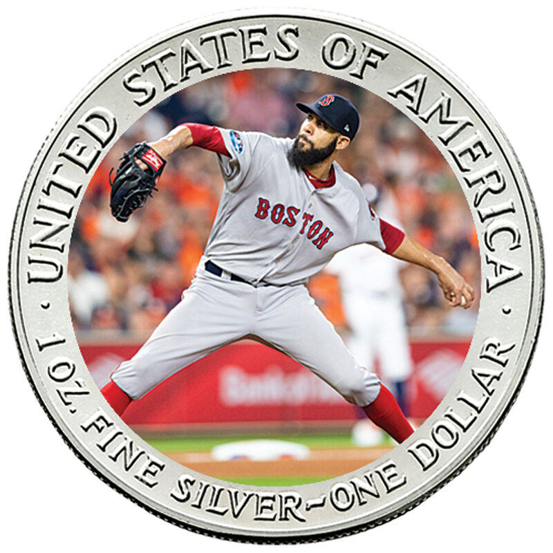 The 2018 Boston Red Sox World Series Champions Commemorative Coin Collection W18 8