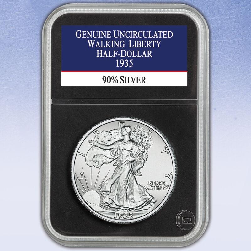 The Uncirculated Walking Liberty Silver Half Dollar Collection WHU 3