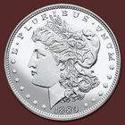 Uncirculated Morgan Silver Dollars of the 19th Century UMD 1