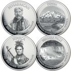 native american landmarks silver dollar collection NAN a Main