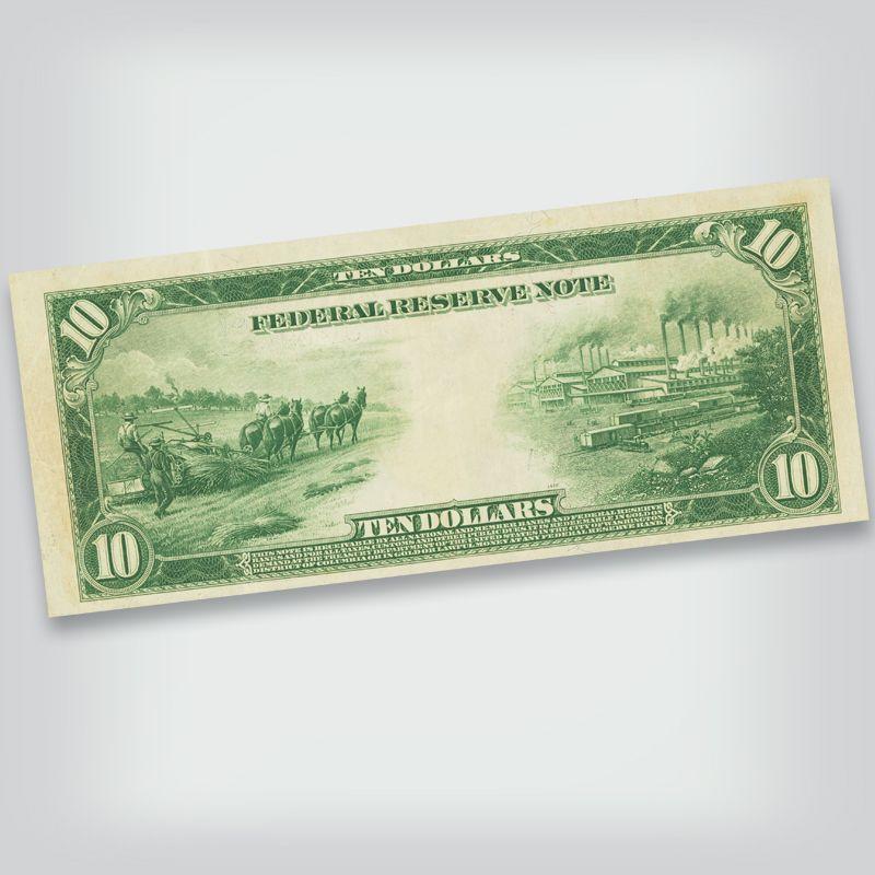 Last Large Size Federal Reserve Notes FRL 1