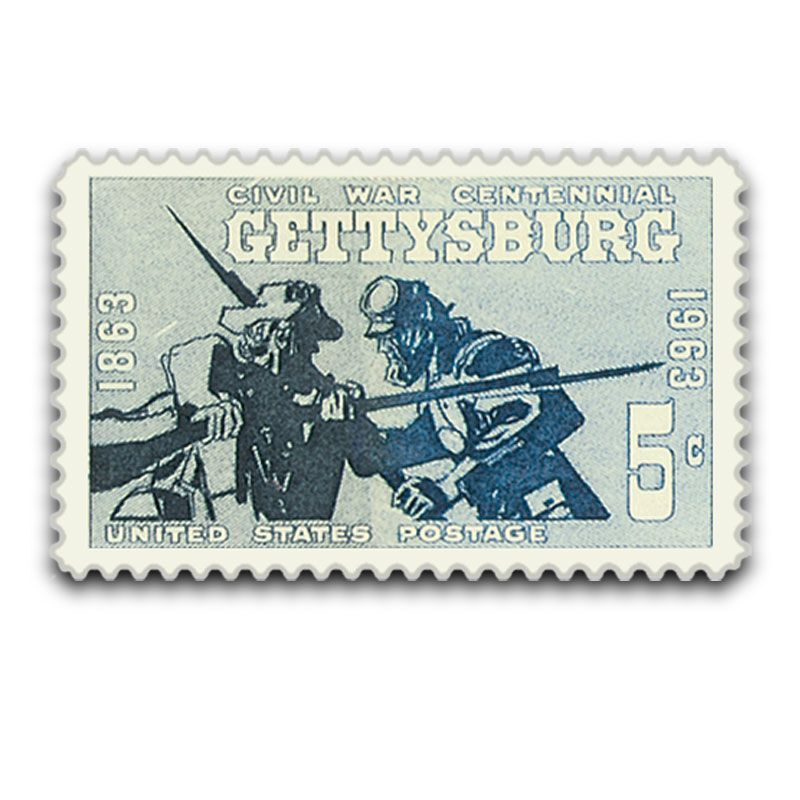 The Battle Of Gettysburg Silver Commemorative Coin GSH 4