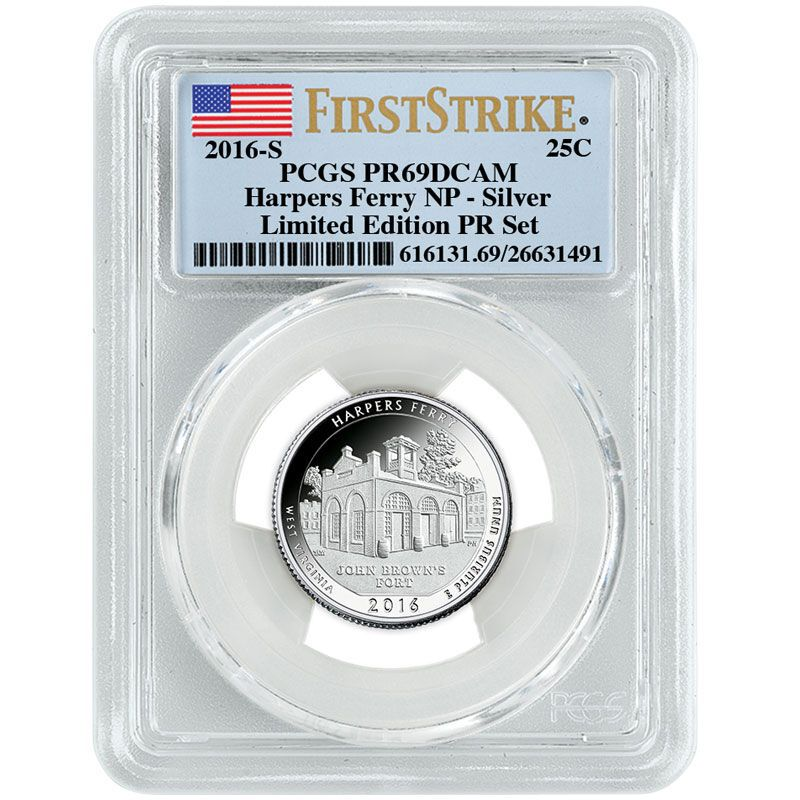The 2016 Limited Edition Silver Proof Coins SL6 9