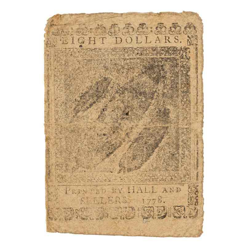 Americas Earliest Paper Currency CNT 5