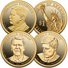The Complete Presidential Dollar Proof Set Collection PPD 1
