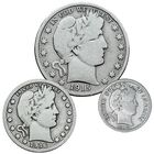 Last Year of Issue US Silver Coins LYS 5