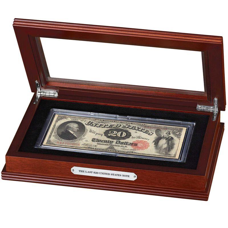 the last 20 dollar united states note LLT g Display