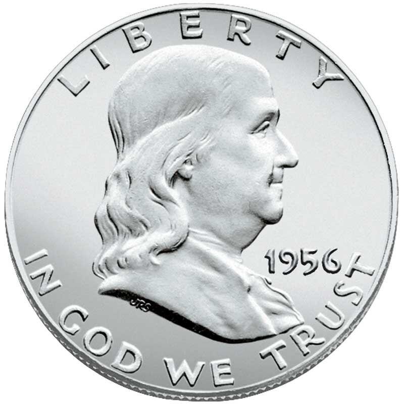 The Choice Uncirculated Franklin Half Dollar Collection BCU 1