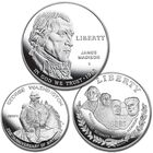 founding fathers silver commemorative coins FFC a Main