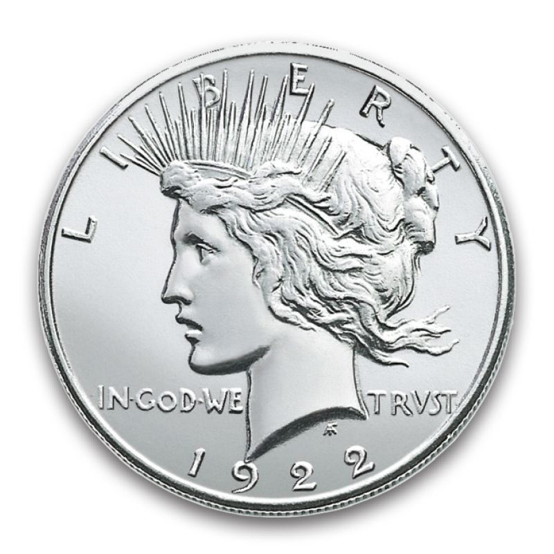 The First and Last Year of Issue Peace Silver Dollars PFL 1