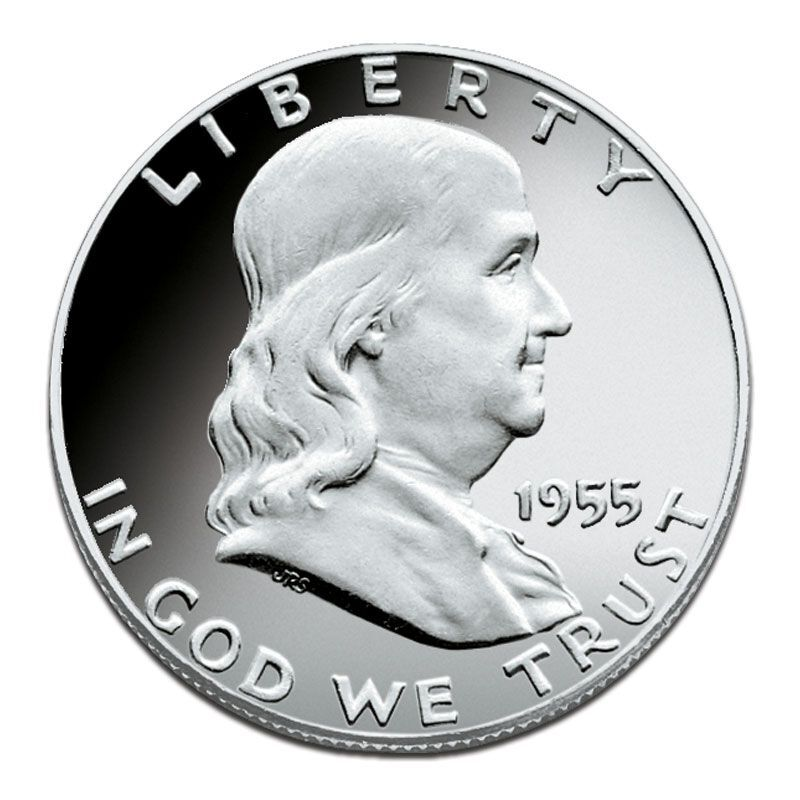 The Proof Franklin Silver Half Dollar Collection FRP 2