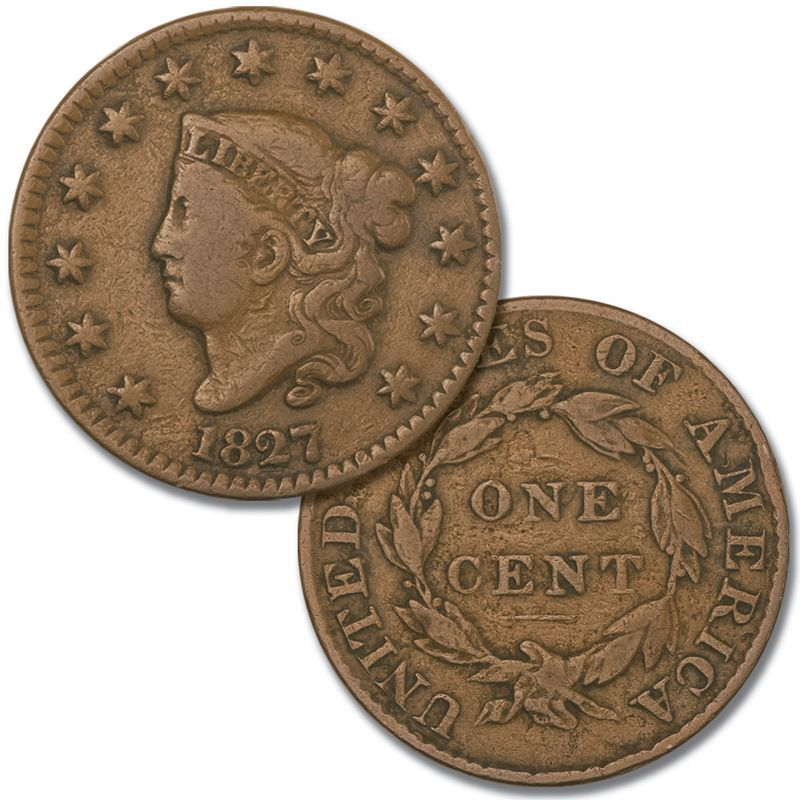 Two Centuries of US One Cent Coins TCP 3