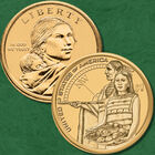 The Complete Uncirculated Collection of Sacagawea Dollars NSP 2
