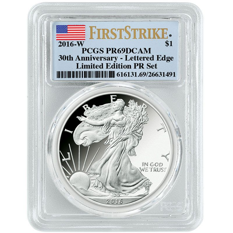 The 2016 Limited Edition Silver Proof Coins SL6 5