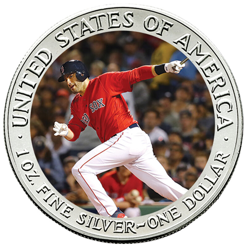 The 2018 Boston Red Sox World Series Champions Commemorative Coin Collection W18 2