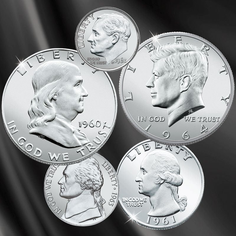 The Last US Coin Sets of the Silver Era LPM 1