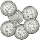 The Complete Set of San Francisco Mint Peace Silver Dollars PSS 1