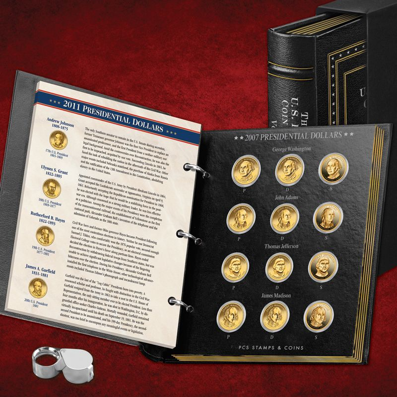 The Complete US Presidential Coin Collection PUP 2