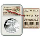 The West Point Mint Proof American Eagle Silver Dollars P69 3